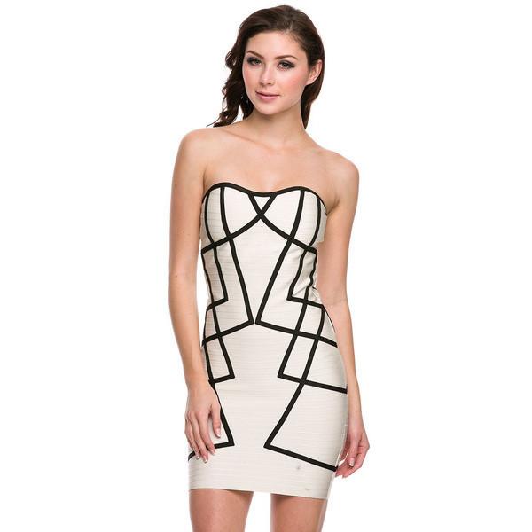 Draw The Line Dress | Vanity Row