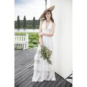 dress,aqua,divine rose print prom dress,beach,tie front,sleeveless