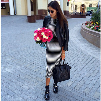 ny style stripes striped dress photo