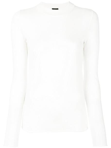 Joseph - fine knit jumper - women - Merino - M, Nude/Neutrals, Merino