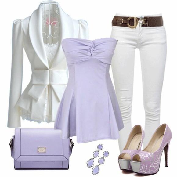 jacket white jacket