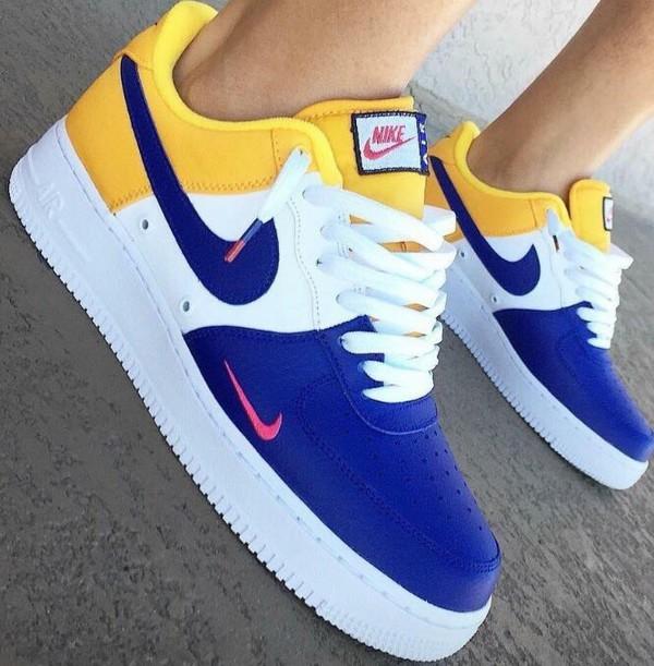 Nike Air Force 1 Low Snakeskin Lakers