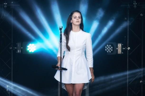 dress lana del rey white dress pleated skirt elegant shirt dress long sleeve dress casual