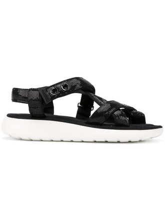 women sandals black shoes