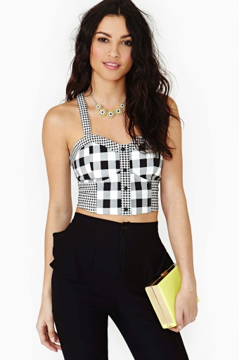 Check it out bustier  in  shop all at nasty gal