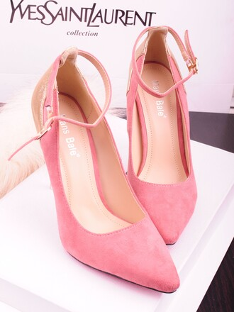 shoes cute cute shoes pink red ysl