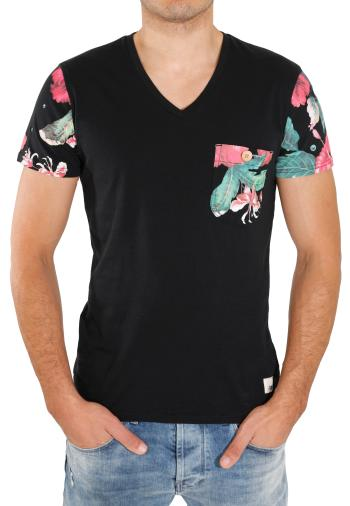 Soms Verry Black Black - T-Shirts