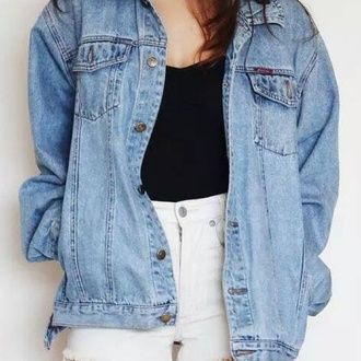 jacket denim jacket denim oversized