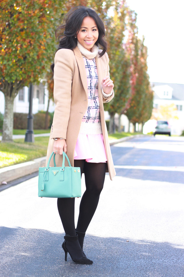i am khatu sweater skirt jacket bag shoes jewels