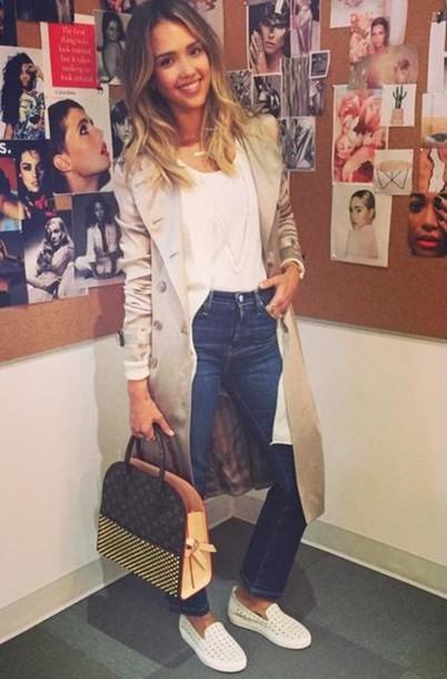 jessica alba bag jeans