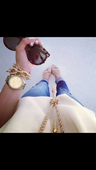 jewels bracelets gold collier beautiful