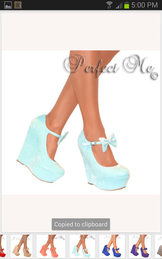 shoes mint bows bright wedges mary jane