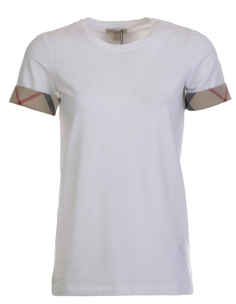 Burberry t-shirt shirt cotton t-shirt t-shirt cotton white top