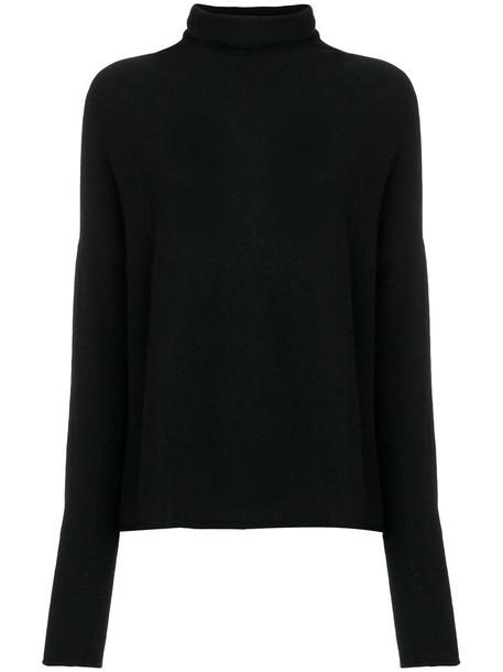 Kristensen Du Nord jumper turtleneck women black wool sweater