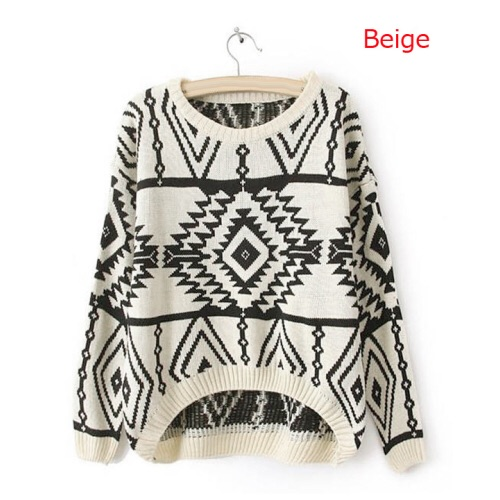 Olivia aztec sweater from doublelw on storenvy