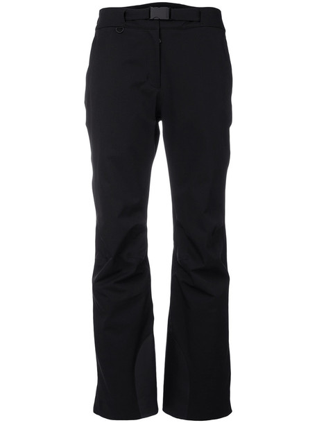 MONCLER GRENOBLE women spandex black pants