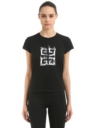 t-shirt shirt cotton white black top
