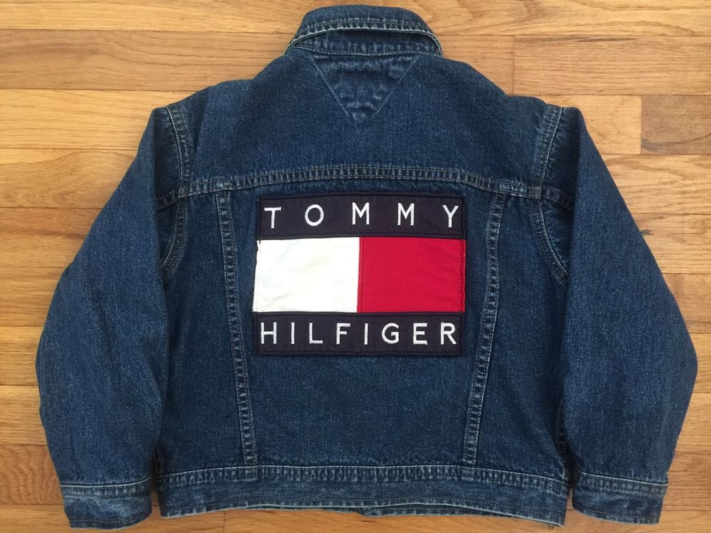 Tommy hilfiger denim jacke logo