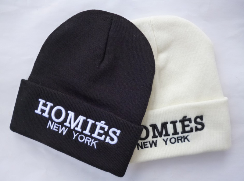 Free Shipping HOMIES NEW YORK Beanie hat  winter warm knitted caps and hats for men women  Skullies cool Beanies-in Skullies & Beanies from Apparel & Accessories on Aliexpress.com