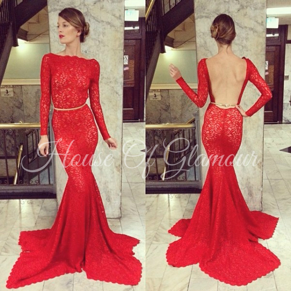 Michael costello customized dress from house of glamour on storenvy