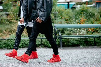 shoes streetstyle stockhom red shoes