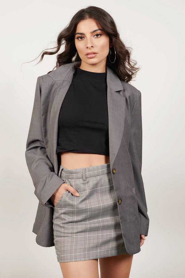 Stomping Ground Grey Blazer