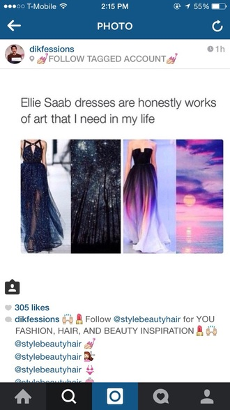 dress prom dress please!! black ombré dress ellie saad