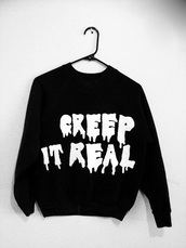 sweater,black,grunge,emo,scene,punk,alternative,jumper,black and white