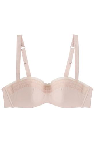 bra mesh rose underwear