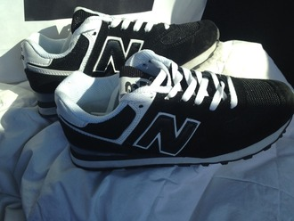shoes black white new balance black and white
