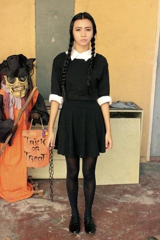dress black halloween