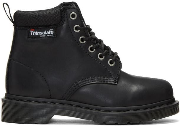 Dr. Martens boots black shoes