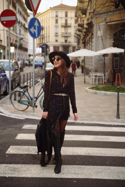 dress urban outfitters kathleen deleasa slit dress belt