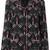 Valentino Love Blades pyjama top, Women's, Size: Medium, Black, Silk