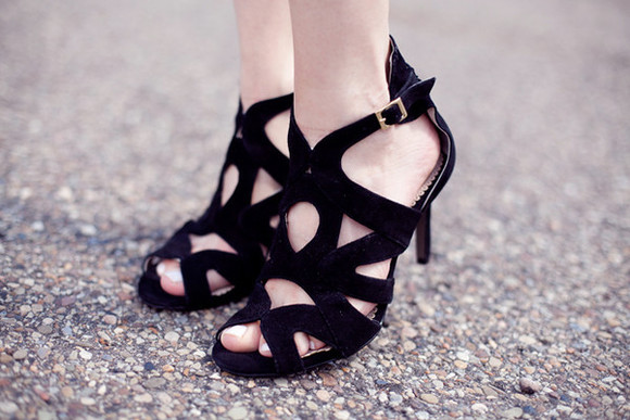 my silk fairytale shoes sandals black shoes strappy sandals classy high heels clubwear summer outfits