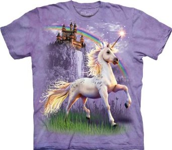 Amazon.com: The Mountain Unicorn Castle T-Shirt: Clothing