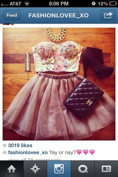 floral cute dress pretty circle skirt blouse bustier and skirt bright crop tops bustier floral bustier floral crop top