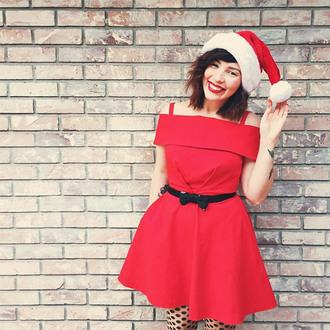 keiko lynn blogger dress belt tights