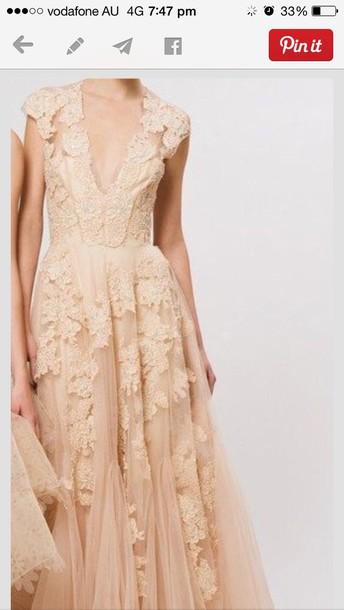 dress nude nude dress nude lace dress long dress prom dress