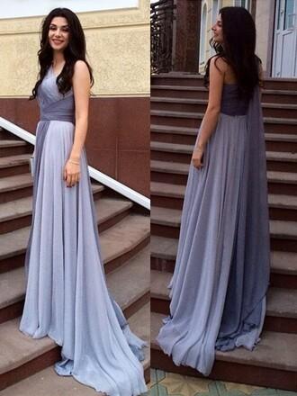 dress elegant purple fashion style trendy gown formal evening dress dressofgirl