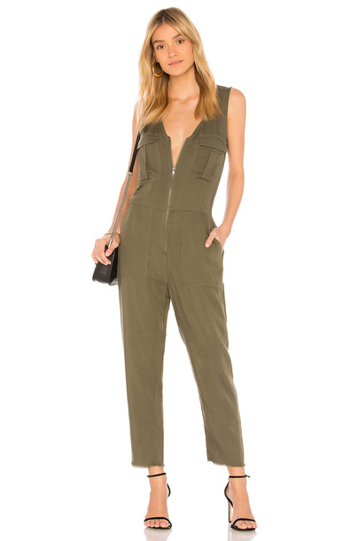 DL1961 Pioneer St Jumpsuit in green