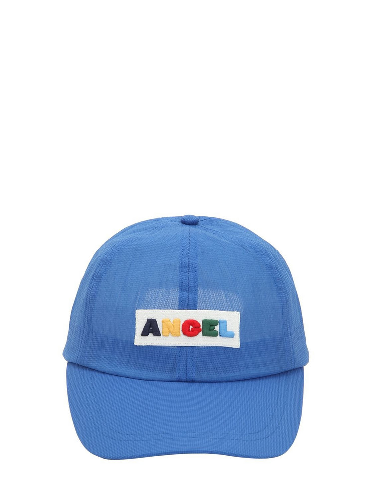 ANGEL CHEN Logo Patch Hat in blue