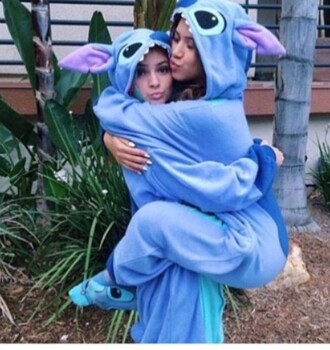 pajamas stitch lilo and stitch onesie cartoon halloween halloween costume jumpsuit blue stitch onesies