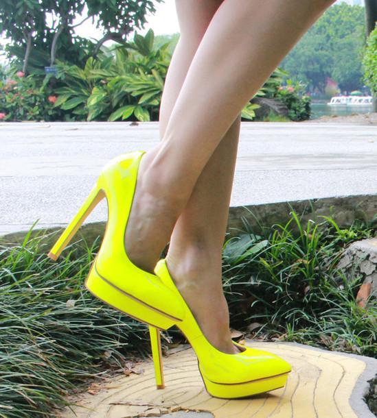 shoes, angelina voloshina, neon, neon