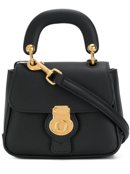 Burberry mini women bag leather black