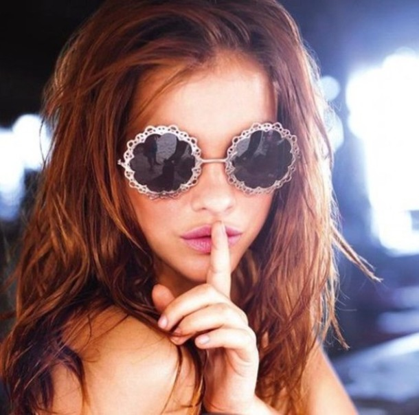 9aa37ac840 sunglasses, barbara palvin, victoria's secret, retro, boho, beach ...