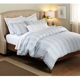 Amazon.com - Ikea Nyponros Duvet Cover and Pillowcases, Full/queen, White/blue -