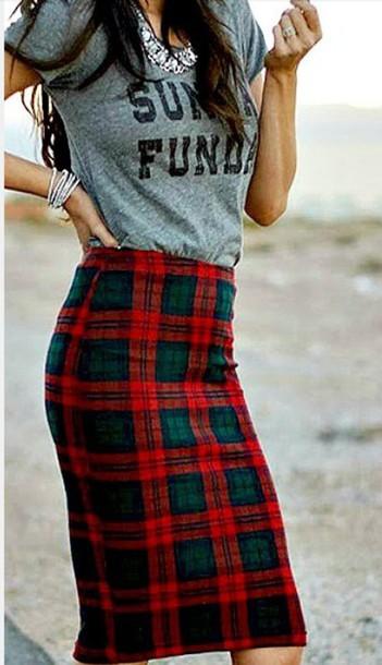 top sunday funday skirt