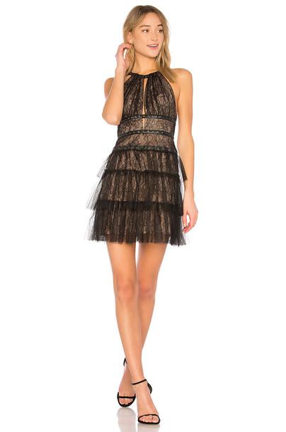BCBGMAXAZRIA dress halter dress short black