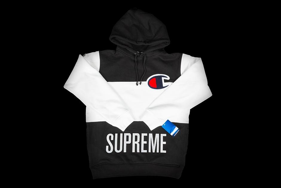 Supreme x champion pullover